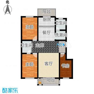 亨泰公寓139.15㎡D面积13915m户型