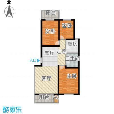 亨泰公寓120.42㎡F面积12042m户型