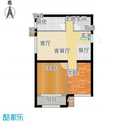 尚湖名筑79.49㎡9#、10#、11#楼面积7949m户型