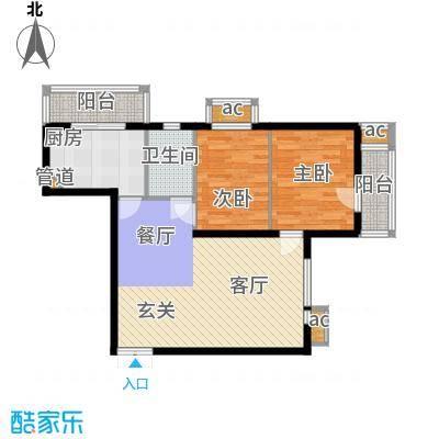 文苑凤凰城2号楼D42户型