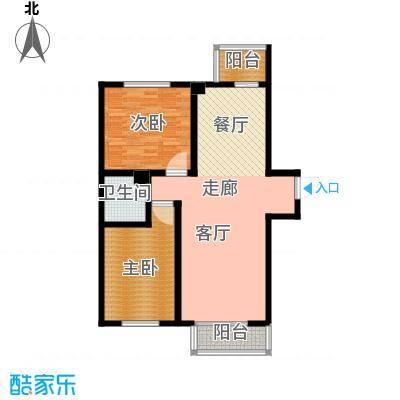 东港龙城94.69㎡R-a1面积9469m户型