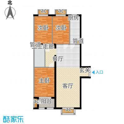 文苑凤凰城145.00㎡1号楼A5'面积14500m户型