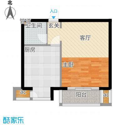 文苑凤凰城2号楼C2'户型