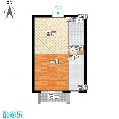 文苑凤凰城2号楼B31户型