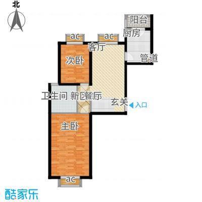 文苑凤凰城2号楼C32户型