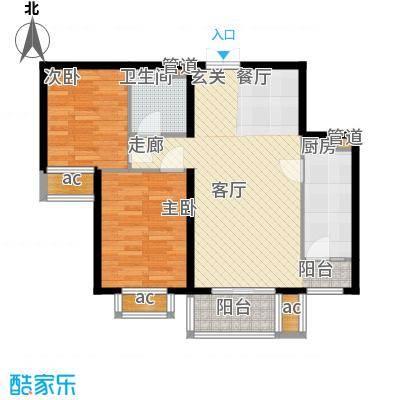 文苑凤凰城1号楼A4'户型