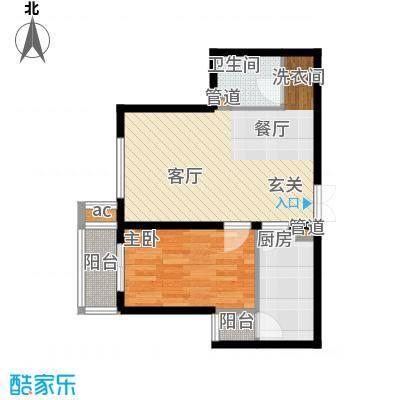 文苑凤凰城1号楼A22户型