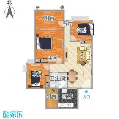 68方两室两厅