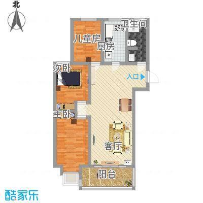 3室两厅108.57
