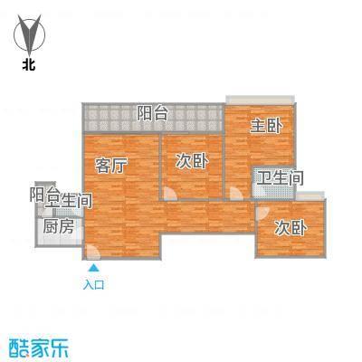 雅居乐熹玥123平的三房