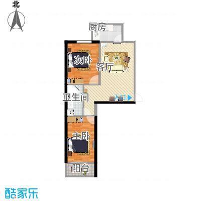 和平嘉园和平嘉园 户型图86㎡两室两厅一卫户型2室2厅1卫 - 副本