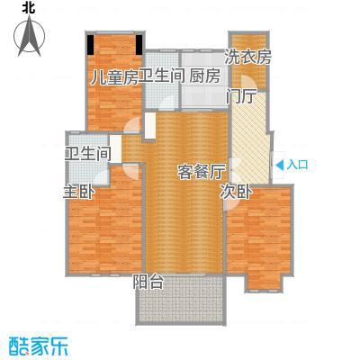 大华紫颐园三房C2户型 - 副本