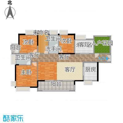 港口国际175.00㎡户型4室1厅3卫1厨 - 副本 - 副本