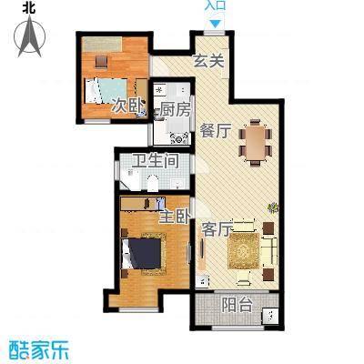 海棠湾A2两室两厅A2100.7㎡ - 副本