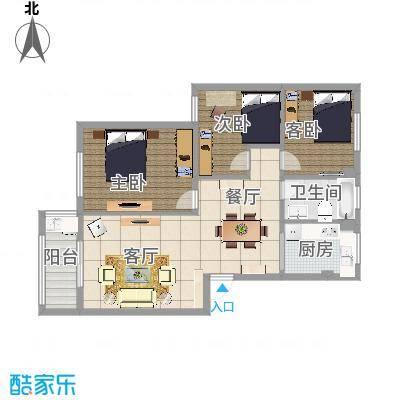梅江西苑的户型图92方 - 副本 - 副本