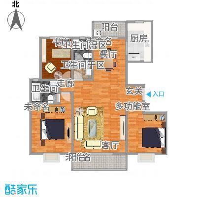 1号楼144方三室两厅两卫 - 副本