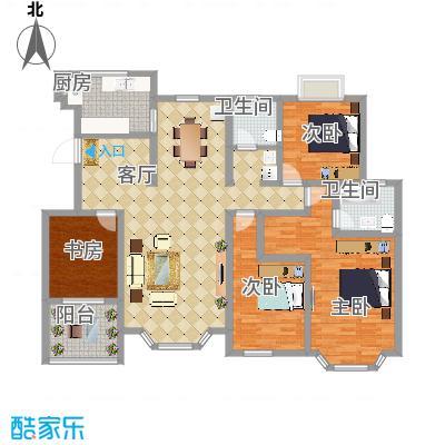 海滨园170方洋房平层四室两厅 - 副本