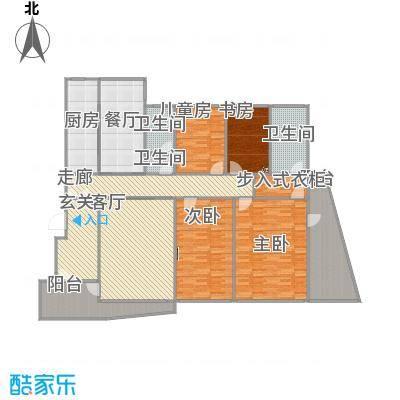 四室二厅二卫185平-4米