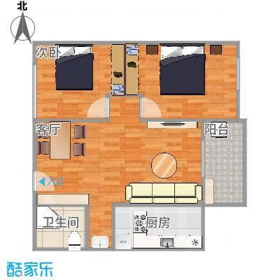 探矿宿舍85平两室一厅