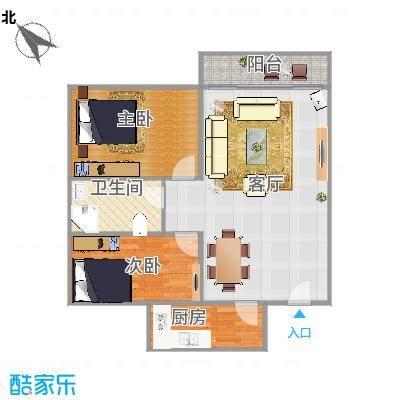 宇峰苑B-612两房