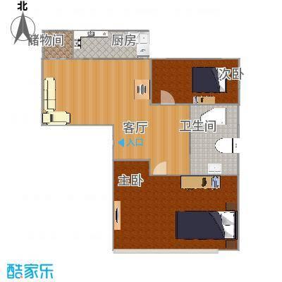 高云街80.69平两室