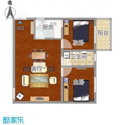 2室1厨1卫2厅