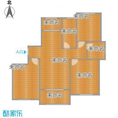 三室一厅一卫106.9m2