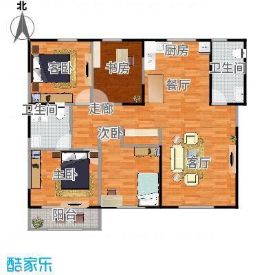 享堂小区四室两厅两卫 - 副本