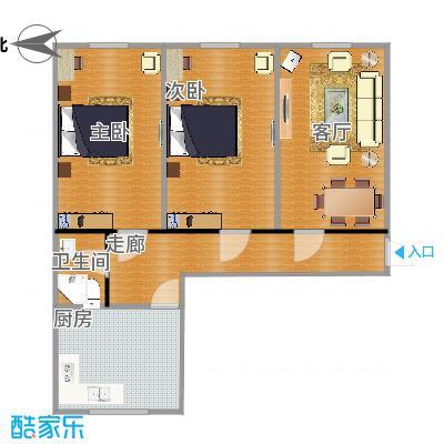 三室0厅一卫一厨