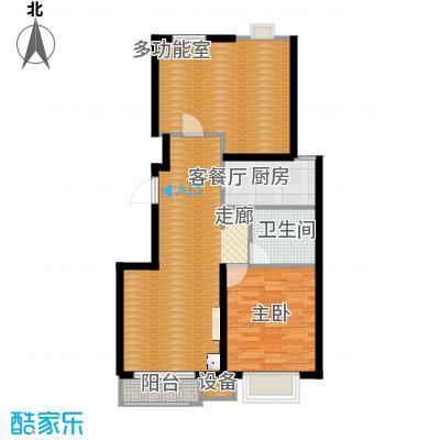 首地・浣溪谷95.00㎡精致三居 三室二厅一卫户型3室2厅1卫 - 副本