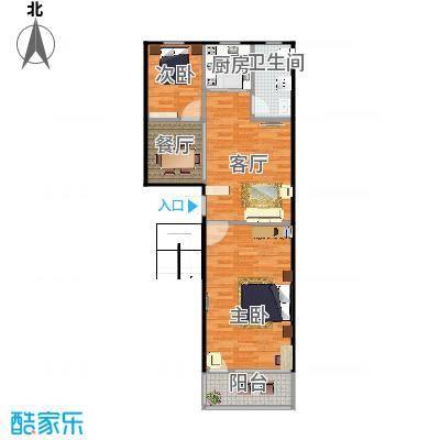74平两室一厅