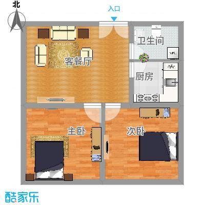 A2户型两室一厅 - 副本
