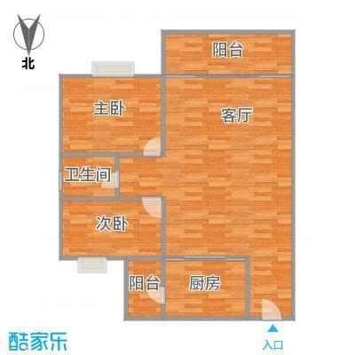 映翠豪庭70平的二房二厅