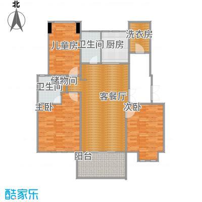 大华紫颐园三房C2户型