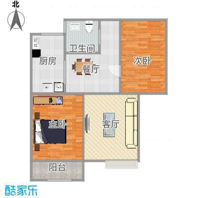 89㎡两居室
