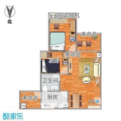 65方户型两室一厅