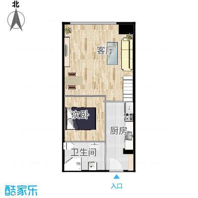 75二室二厅一卫loft - 副本 - 副本
