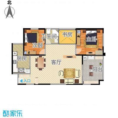4/5#楼02户型89.83m - 副本