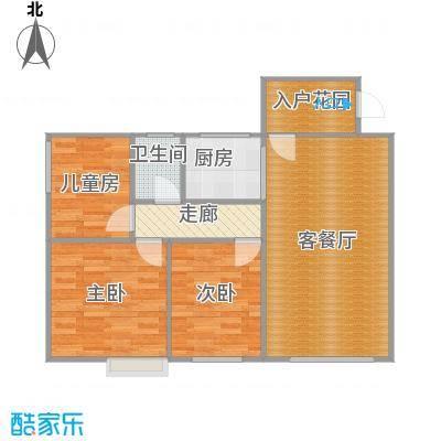 A栋05号房80.3平方三房两厅一卫一厨