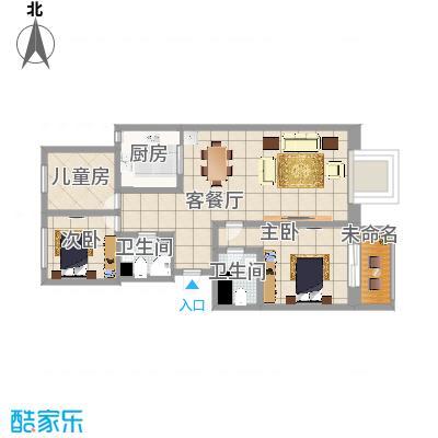 幸福家园3单元胡伟设计装饰机构