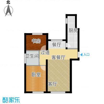 TBD云集中心90.00㎡C户型2室2厅1卫 - 副本