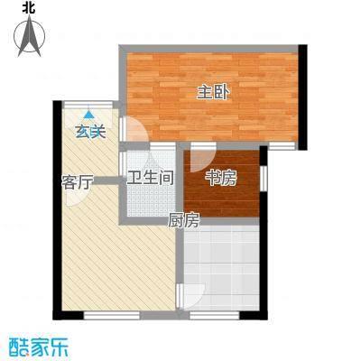 中国铁建・梧桐汇73.00㎡B1※-01户型10室 - 副本