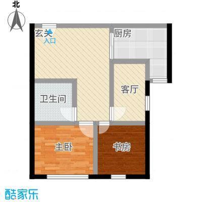 中国铁建・梧桐汇78.00㎡B1户型10室 - 副本
