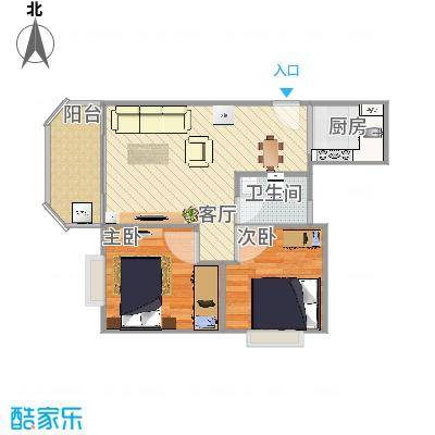 德兴城2居室