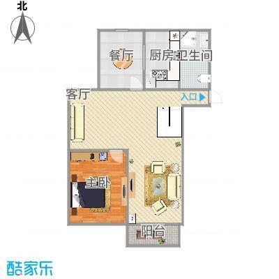 燕铭华庄的户型图