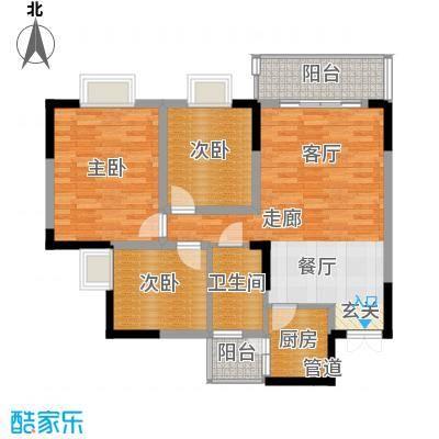 远大生态风景104.00㎡3号楼(33层面积10400m户型
