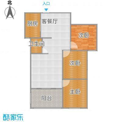 135方c户型三室两厅一卫