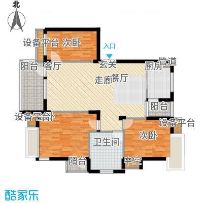 海棠晓月海雅居207.00㎡面积20700m户型