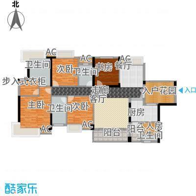 香市1号190.00㎡2栋标准层01、03面积19000m户型