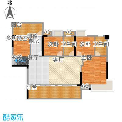 荣爵馆103.19㎡9-11栋5-15奇数层面积10319m户型